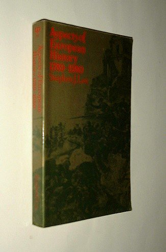 9780416731804: Aspects of European History: 1789-1980 (University Paperbacks)