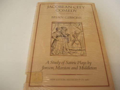 9780416734508: Jacobean City Comedy