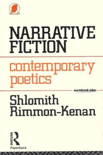 9780416742206: Narrative Fiction: Contemporary Poetics (New Accents)