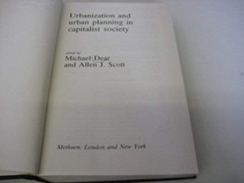 9780416746402: Urbanization and Urban Planning in Capitalist Society