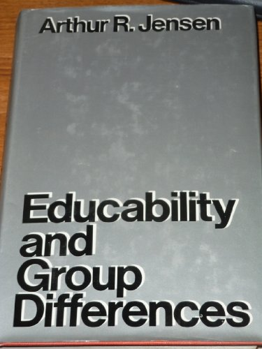 9780416757804: Educability and Group Differences