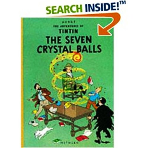 9780416780000 The Seven Crystal Balls Adventures Of Tintin