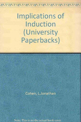 The Implications of Induction.: Cohen, Jonathan