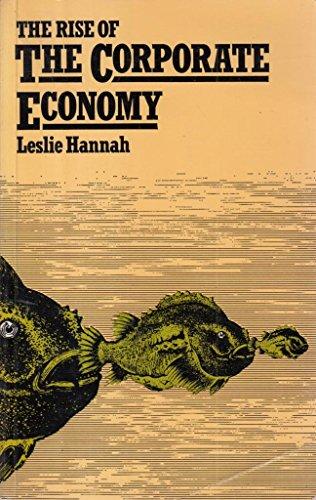 9780416795202: Rise of the Corporate Economy (University Paperbacks)