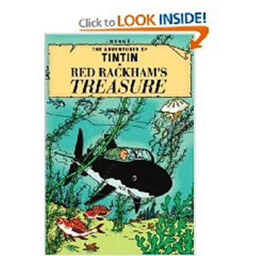 9780416800104: Red Rackham's Treasure (The Adventures of Tintin)