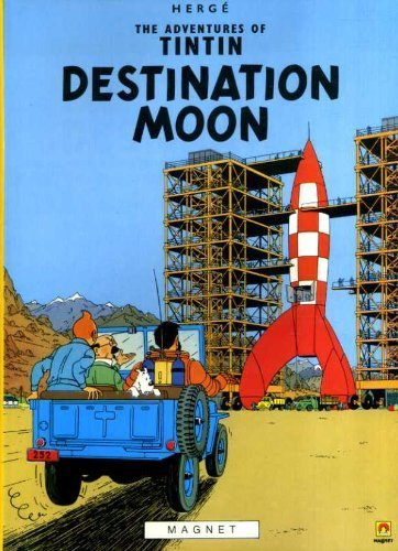 9780416800302: Destination Moon (The Adventures of Tintin)