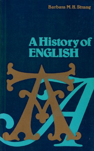 9780416806601: A History of English (UNIVERSITY PAPERBACKS)