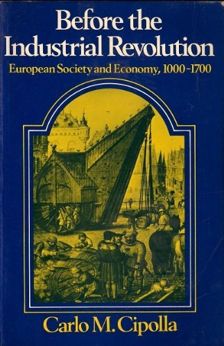 9780416809107: Before the Industrial Revolution: European Society and Economy, 1000-1700 (University Paperbacks)