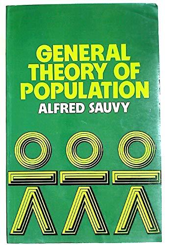 9780416824902: General Theory of Population (University Paperbacks)