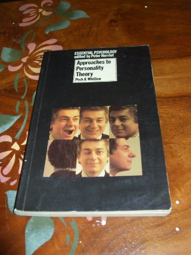 9780416828108: Approaches to Personality Theory (Essential Psychology) (English and Multilingual Edition)