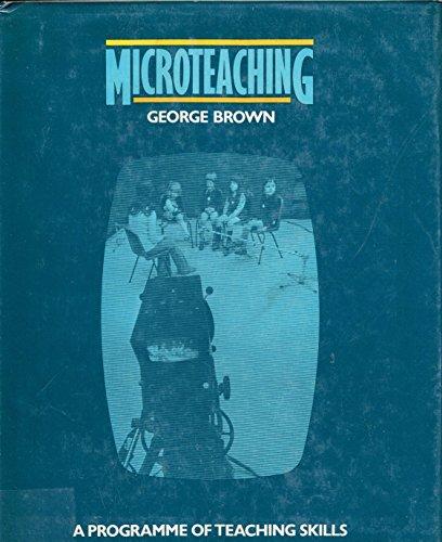 9780416830101: Microteaching: Programme of Teaching Skills