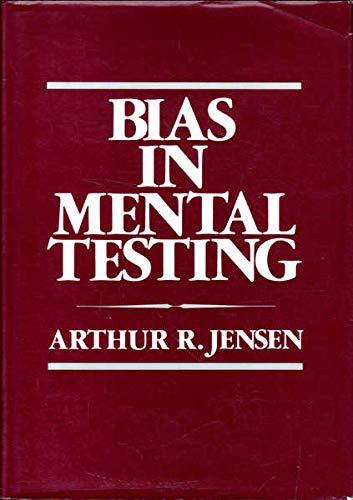 9780416832303: Bias In Mental Testing