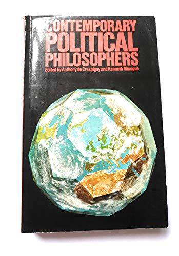 9780416833805: Contemporary Political Philosophers