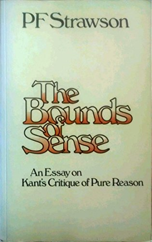 9780416835601: The Bounds of Sense: An Essay on Kant's Critique of Pure Reason (University Paperbacks)