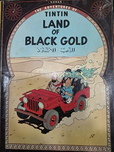 9780416836202: Land of Black Gold (The Adventures of Tintin)