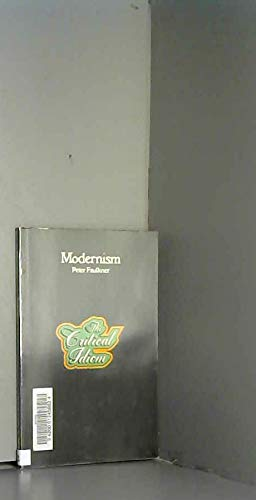 9780416837100: Modernism (Critical Idiom)