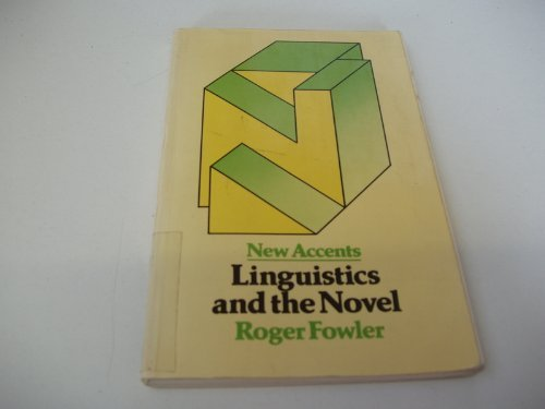 9780416838305: Linguistics and the Novel (New Accents)
