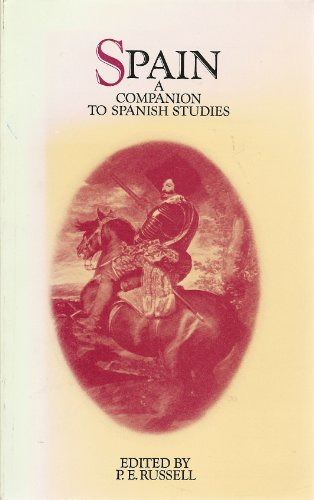 9780416841107: Spain: A Companion to Spanish Studies (University Paperbacks)