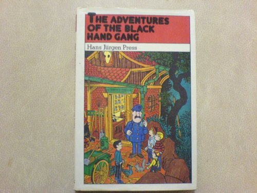 9780416842104: Adventures of the Black Hand Gang (Pied Piper Books)