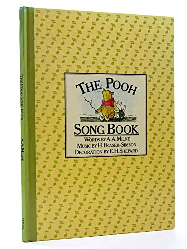 9780416850604: The Pooh Song Book: Fifteen Songs with Piano Accompaniment and Simple Guitar Chords