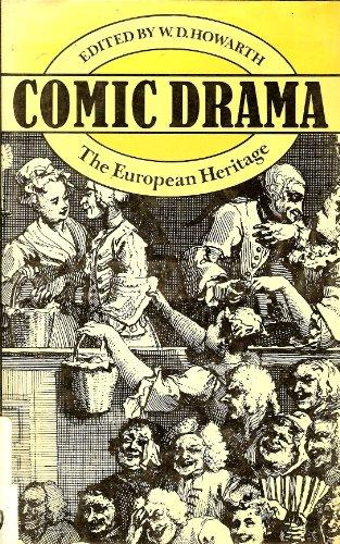 9780416850802: Comic Drama: European Heritage