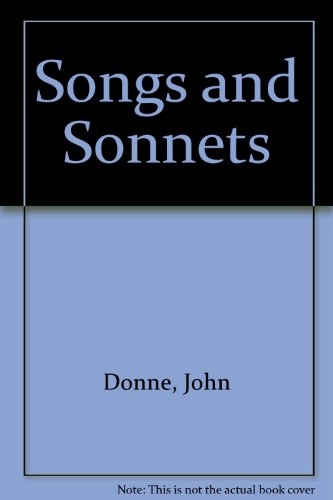 9780416857702: Songs and Sonnets