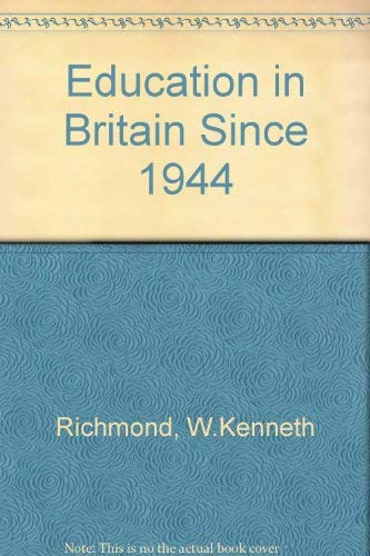 9780416859409: Education in Britain Since 1944