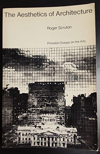 9780416859706: The Aesthetics of Architecture