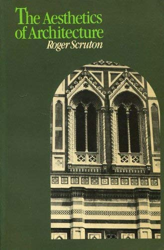 9780416859805: Aesthetics of Architecture