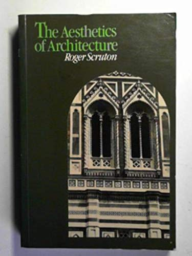 9780416859805: The Aesthetics of Architecture