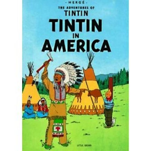 9780416861204: Tintin in America (The Adventures of Tintin)