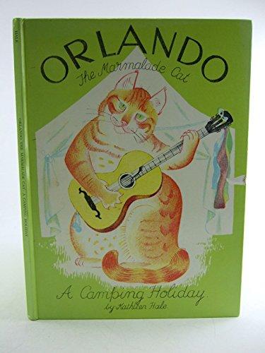 9780416863000: ORLANDO THE MARMALADE CAT: A CAMPING HOLIDAY
