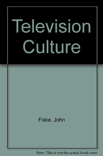 9780416924305: Television Culture