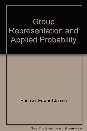 9780416950304: Group Representation and Applied Probability