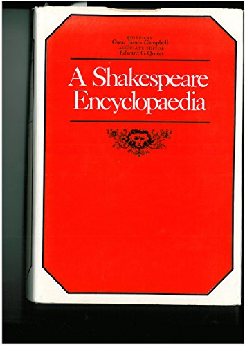 9780416951806: SHAKESPEARE ENCYCLOPAEDIA
