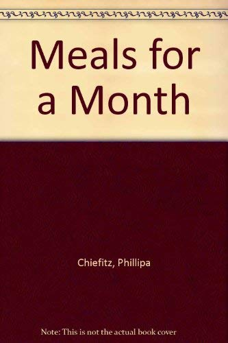 9780417044606: Meals for a Month