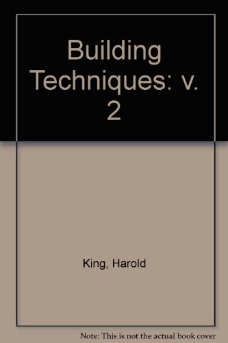 9780419103806: Building Techniques: v. 2