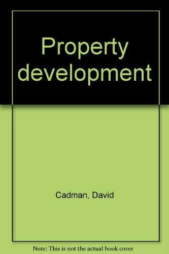 9780419112907: Property development