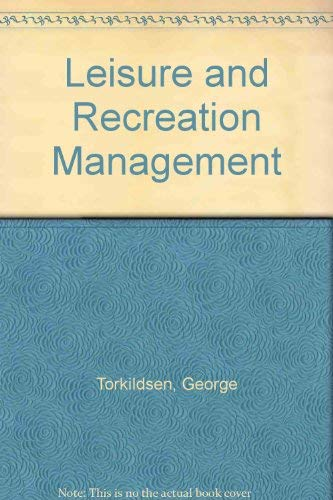 9780419117407: Leisure and Recreation Management
