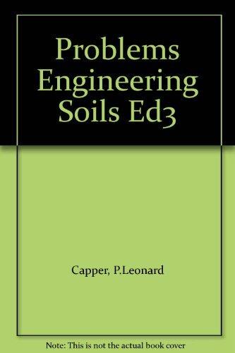 9780419118404: Problems Engineering Soils Ed3
