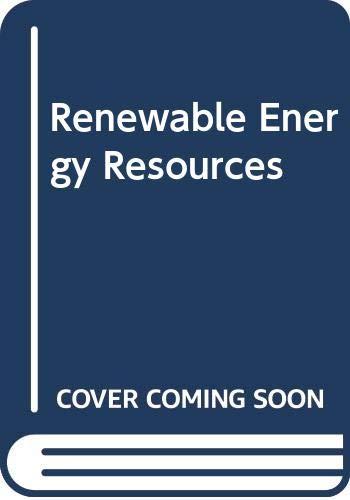 9780419120001: Renewable Energy Resources