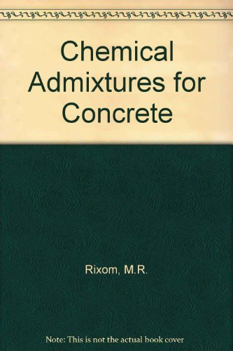 9780419126300: Chemical Admixtures for Concrete