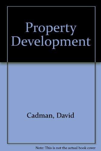 9780419128205: Property Development