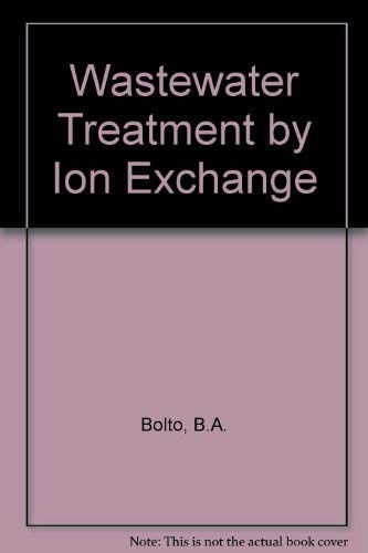 9780419133209: Wastewater Treatment by Ion-Exchange