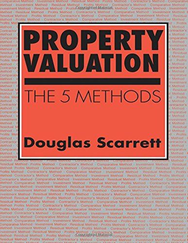 9780419137801: Property Valuation: The five methods