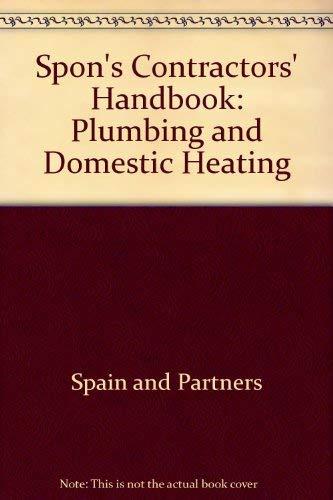 9780419142003: Spon's Contractors' Handbook: Plumbing and Domestic Heating