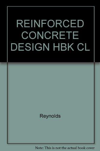 9780419145301: Reinforced Concrete Design Hbk Cl