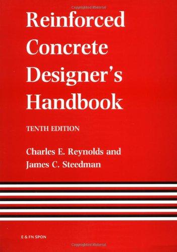 9780419145400: Reinforced Concrete Designer's Handbook, Tenth Edition (Volume 2)