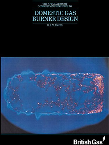 9780419148005: The Application of Combustion Principles to Domestic Gas Burner Design