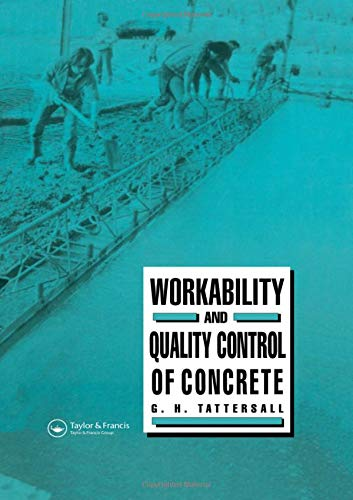 9780419148609: Workability and Quality Control of Concrete